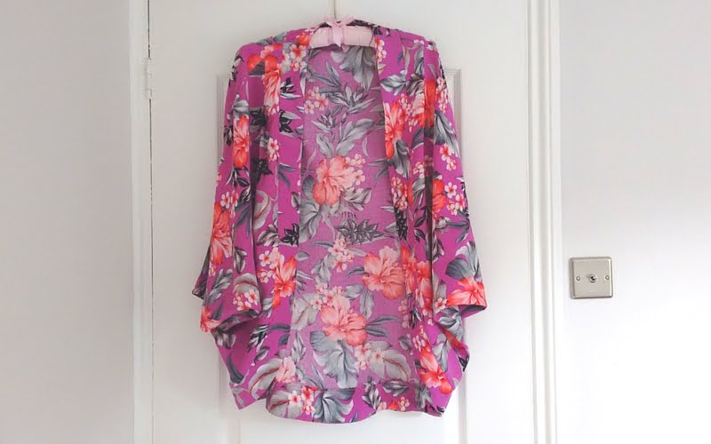 Fashion with Fabric Kimono Jacket