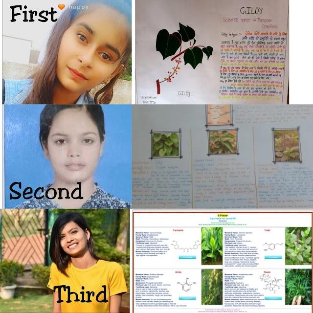 स्वरूपानंद महाविद्यालय में तुलसी दिवस पर पोस्टर प्रतियोगिता का आयोजन