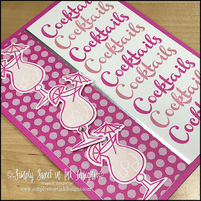 Use the Stamparatus to make this fun card with the Nothing's Better Than bundle and hinge stamping technique.