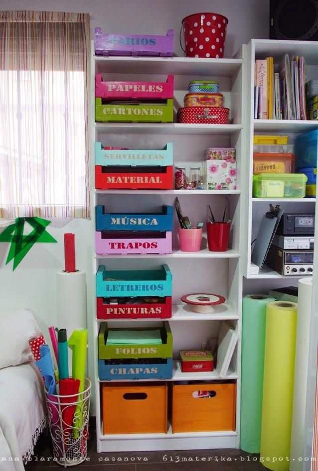 Icono interiorismo ideas para decorar con cajas de fruta - Caja fruta decoracion ...