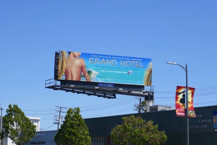 Grand Hotel series billboard