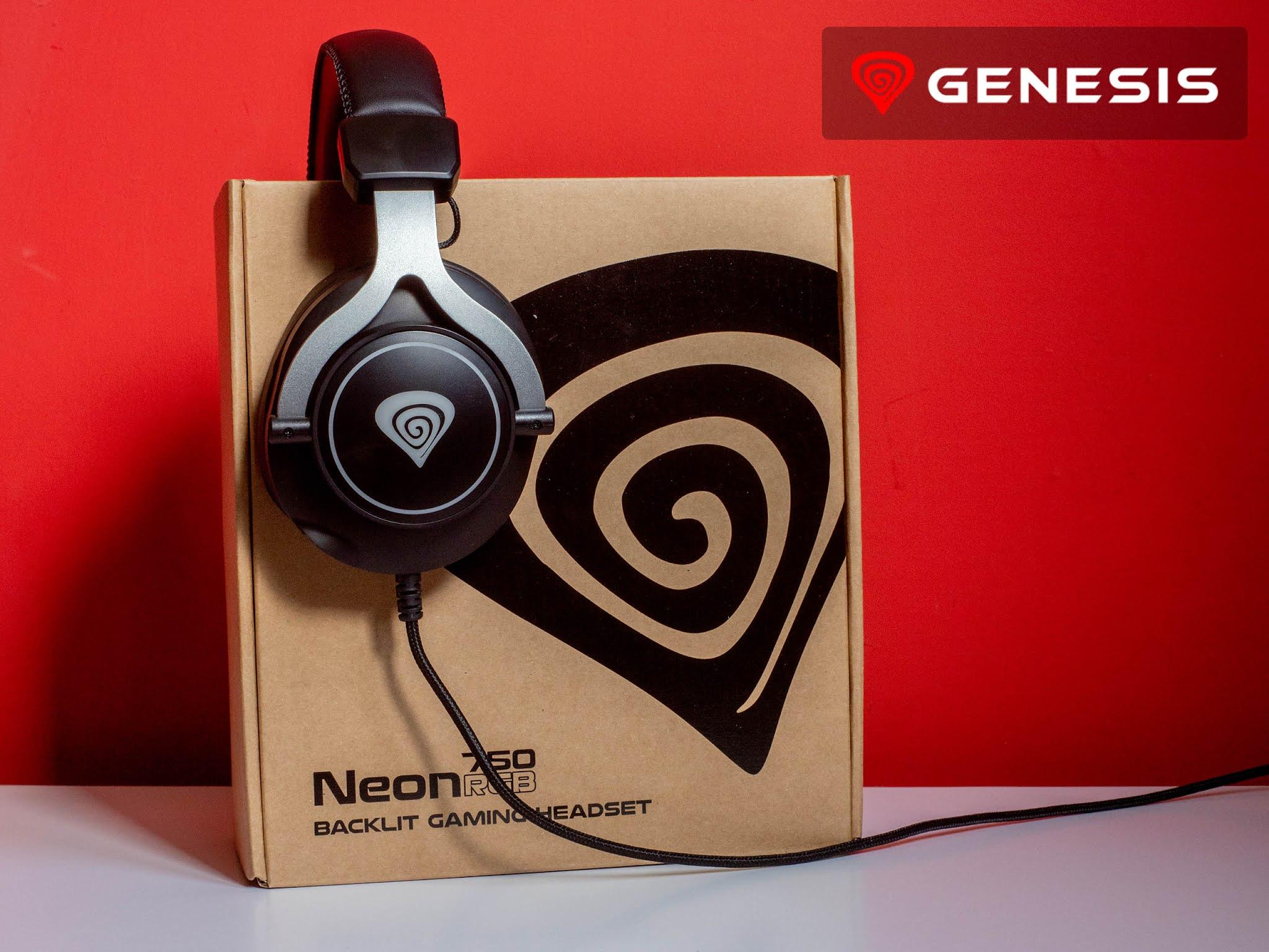 Słuchawki gamingowe Genesis Neon 750 RGB