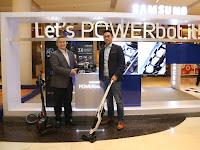 Samsung Hadirkan Vacuum Cleaner Dengan Daya Hisab 70 Kali Lebih Baik