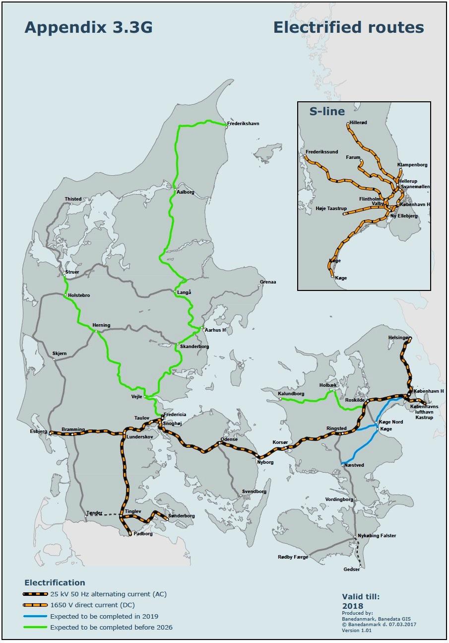 Viajes ferroviarios de ayer, hoy y mañana: Dinamarca abrirá en 2018 ...