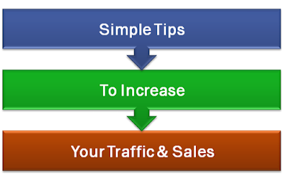 Simple Tips To Increase Your Traffic & Sales