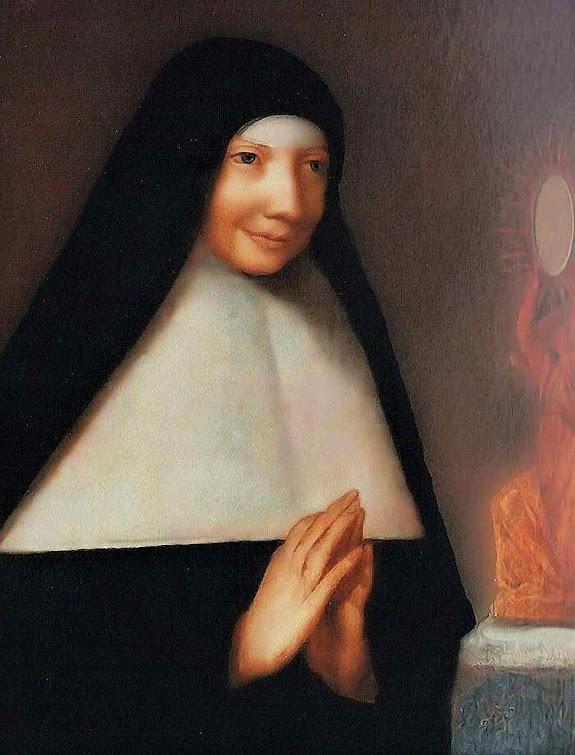 Madre Mechtilde (Matilde) do Santíssimo Sacramento fundou a primeira ordem consagrada à Adoração Perpetua