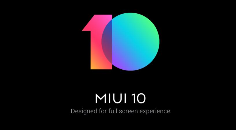 21 Xiaomi phones starts receiving MIUI 10 Stable ROM