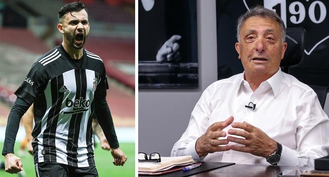 Beşiktaş Kulübü Başkani; Rachid Ghezzal  için özel açiklama yapti.