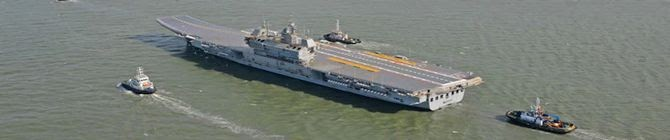 Vikrant, First Made-In-India Aircraft Carrier, Not A Liability: Navy