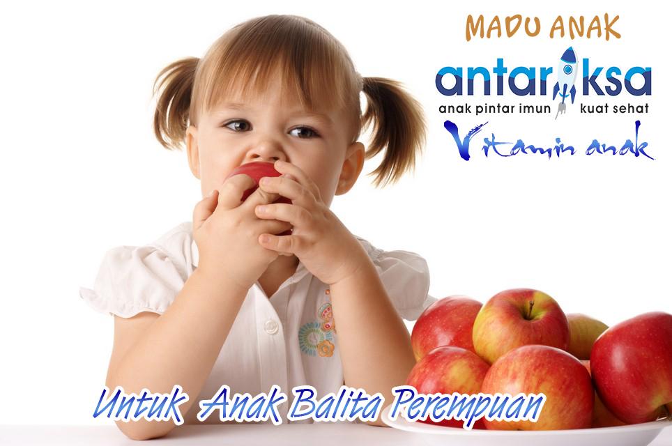 Vitamin Anak Madu Antariksa Untuk Anak Perempuan