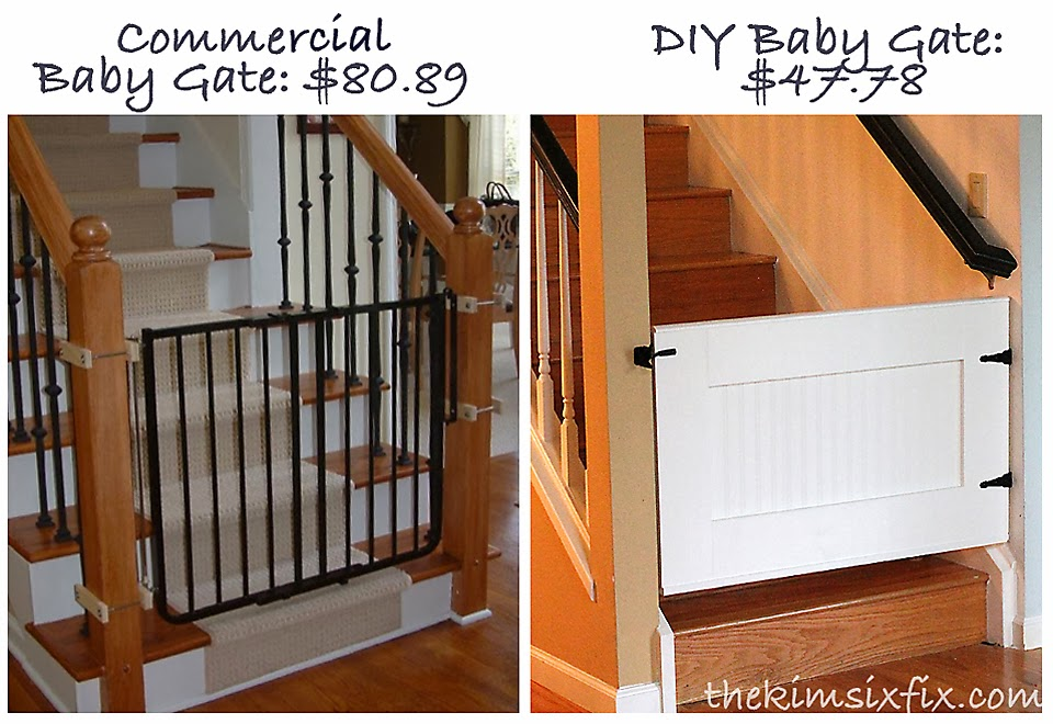 Easy Custom Diy Baby Gate The Kim Six Fix
