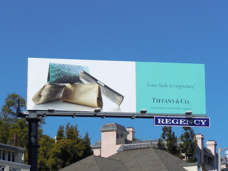 Tiffany Clutch billboard