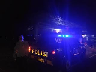 Tekan Aksi Kejahatan Di Jalan Raya, Polsek Alla Intensifkan Patroli Blue Light