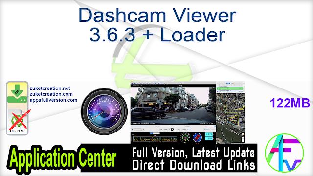 Dashcam Viewer 3.6.3 + Loader