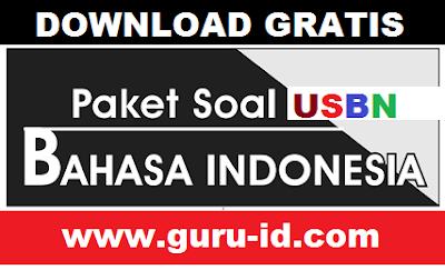 gambar SOAL USBN bahasa indonesia 2018