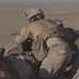 Pictures of live exercises for US marines near Al - Tanf base in Syria