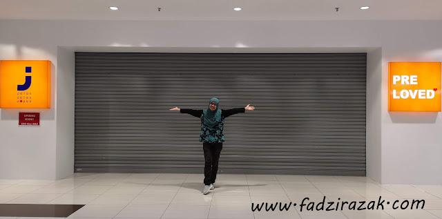 Fadzi Jumpa Tempat Shopping Best