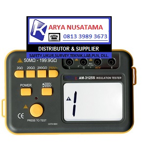 Jual DIgital Insulation Tester Aditeg AM-3125S di Bandung