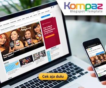 Template Blogger Mirip Kompas
