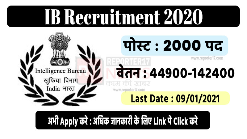 ib recruitment 2020