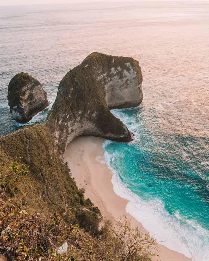 Fasilitas Pantai Kelingking Beach Bali