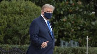 Trump Bebas Gejala Covid-19 Dalam 24 Jam Terakhir