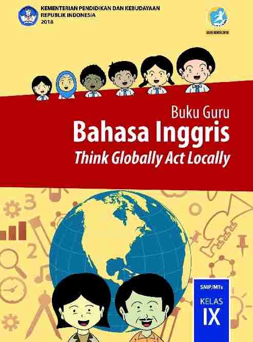 Buku Bahasa Inggris Kelas 9 Revisi 2018 - Buku Guru