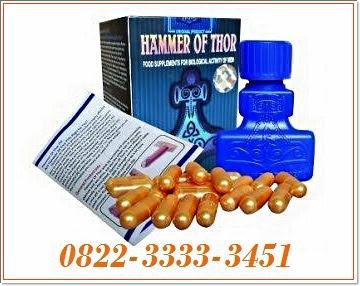 Jual Obat Hammer Of Thor Asli di Jakarta Barat 082233333451 bayar di tempat