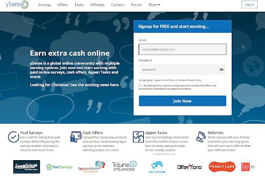 ySense - czy ta strona naprawdę płaci? Opinie, opis, wady.