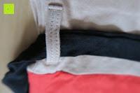 Schlaufe: Desigual Damen A-Linie Kleid, VEST_ALTAÍR Knielang mit Print