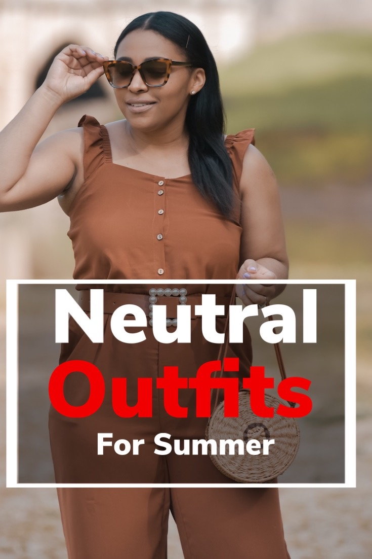 different ways to style neutrals for summer, summer oufit ideas, how to wear neutrals in summer, summer neutrals, neutral outfit ideas, pattys kloset, simple summer outfits