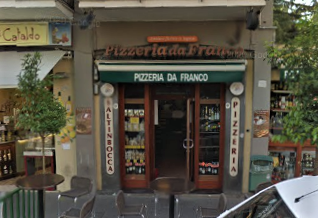 Pizzeria da Franco, at Corso Italia 265, is just around the corner from the Circumvesuviana station and stays open late