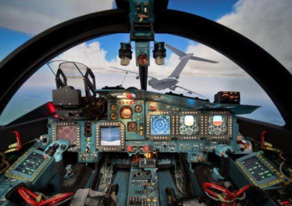 Sukhoi Su-34 cockpit