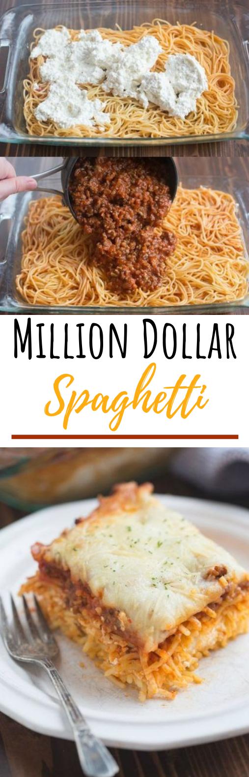 Million Dollar Spaghetti #dinner #spaghetti