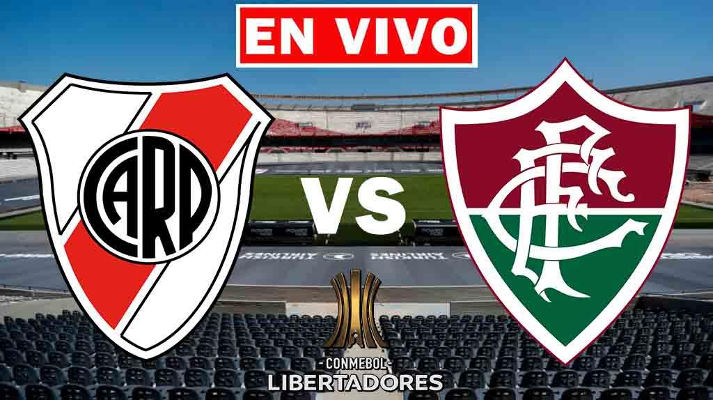 River Plate. Fluminense EN VIVO Copa Libertadores.