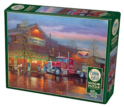 Dave Barnhouse Big Red 1000 piece puzzle by Cobble Hill