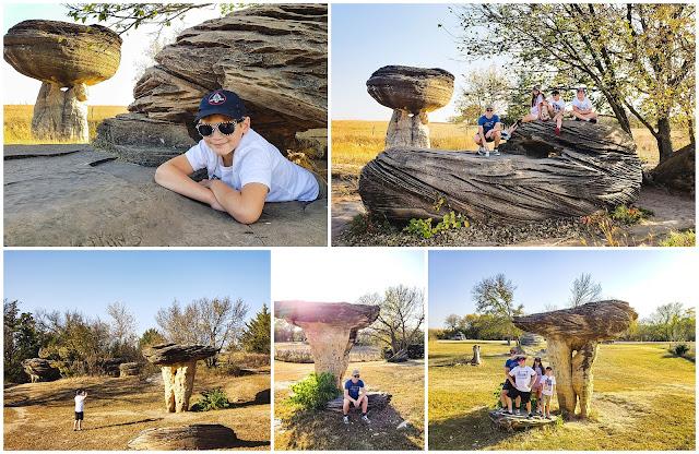 Mushroom Rocks State Park