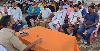 #JaunpurLive : अपराधियों व शराब माफियाओं की सूचना तुरंत पुलिस को दे:एसओ
