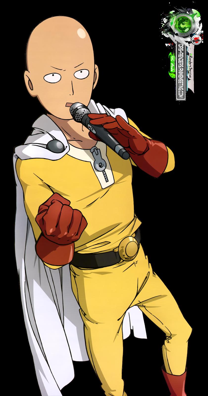 One Punch Man:Saitama Funny Karaoke HD Render | ORS Anime ...