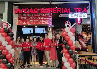 MACAO IMPERIAL TEA NOW AT SM CITY SAN JOSE DEL MONTE!