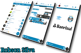 Banrisul Theme For GBWhatsApp By Robson