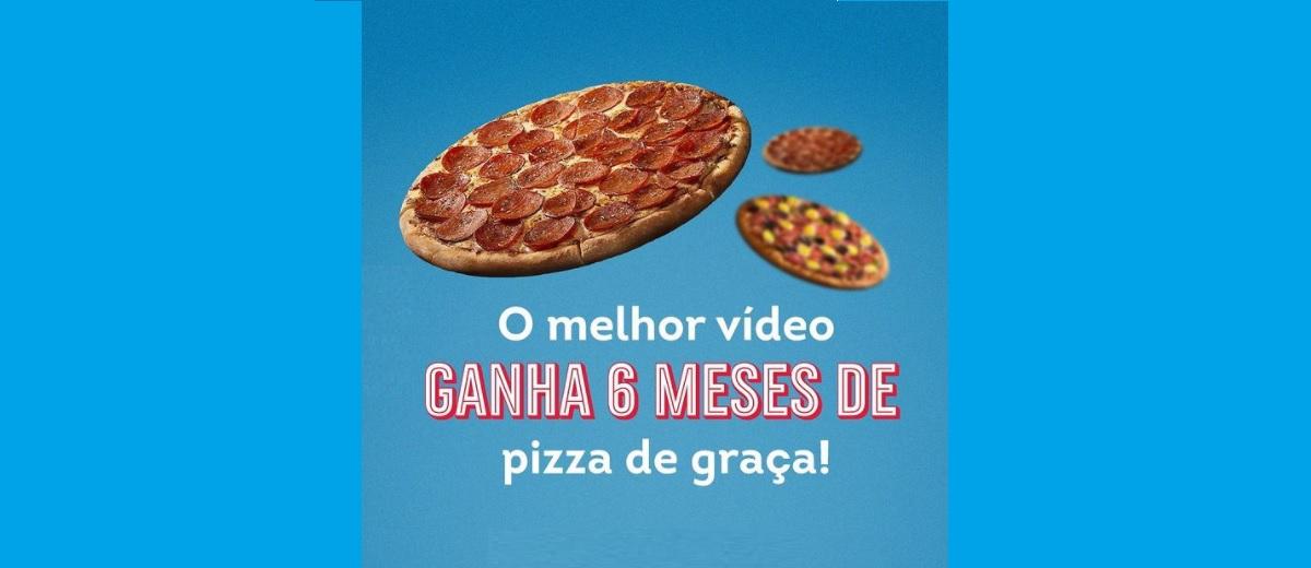 Participar Promoção Domino's 2021 Jojo Challenge 6 Meses Pizzas Grátis