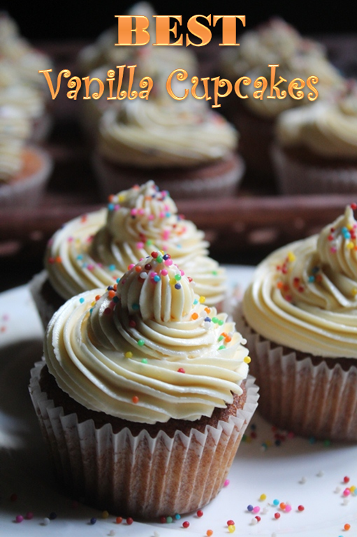 Now Lets Talk About This Cupcakes Basic Vanilla Cupcake Is One Of The Simplest Recipe You Will Ever Come Across It Need Just Few Ingredients