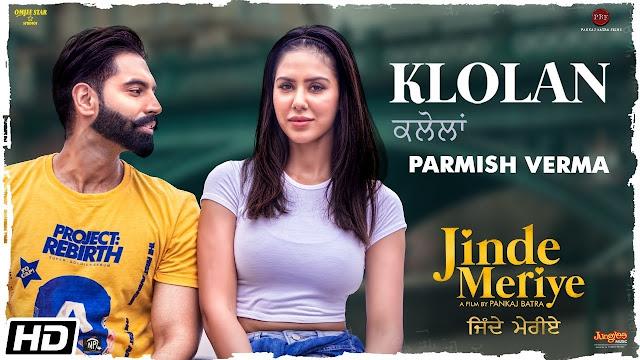 क्लोलां KLOLAN Lyrics in hindi - Parmish verma