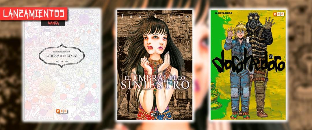 Novedades ECC Ediciones septiembre 2021 - manga