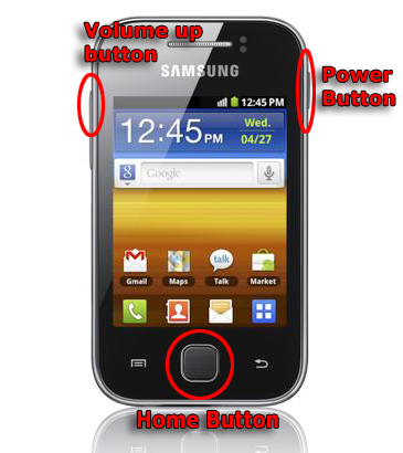 how to root samsung galaxy gt series wel e from house