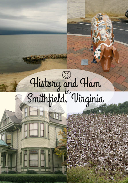 History and Ham in Smithfield, Virginia