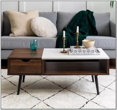 Lift Top Coffee Table Target;Coffee Table With Lift Top Target;Tapered Leg Mid Century Modern Storage Coffee Table - Saracina;