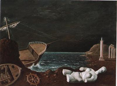 Image result for pintura simbolista desolação