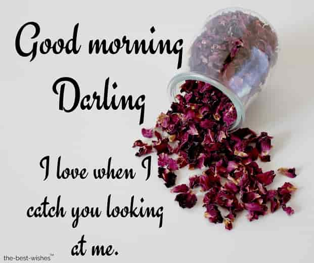 good morning darling greetings